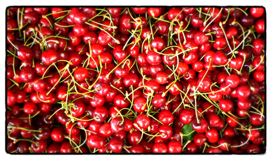 market-cherries