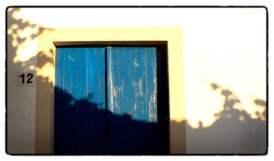 village-door